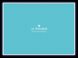 FLOWERS Sweet sounds Box 「Le bouquet」
